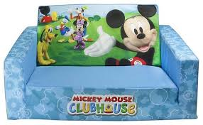 Minnie Mouse Flip Open Sofa Bed by Mickey Mouse Clubhouse Flip Open Sofa With Slumber Bed
