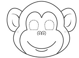 Monkey Face Clipart 13