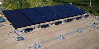 how to install solar panels on flat tile roof roofing