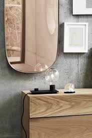 framed mirror groß muuto connox badezimmerspiegel