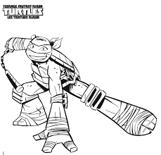 Coloriage Tortue Ninja Raphael Tranquille Loki Marvel Coloring Pages