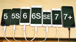 iPhone 5 vs iPhone 5S vs iPhone 6 vs iPhone 6S vs iPhone SE vs