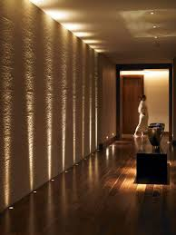 Hallway Ideas Accent Wall Lighting Textures Become Will Dramatic Series Stone Sconces Lamps