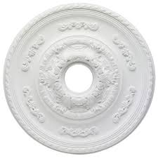 westinghouse sofia 21 in white ceiling medallion 7775700 the