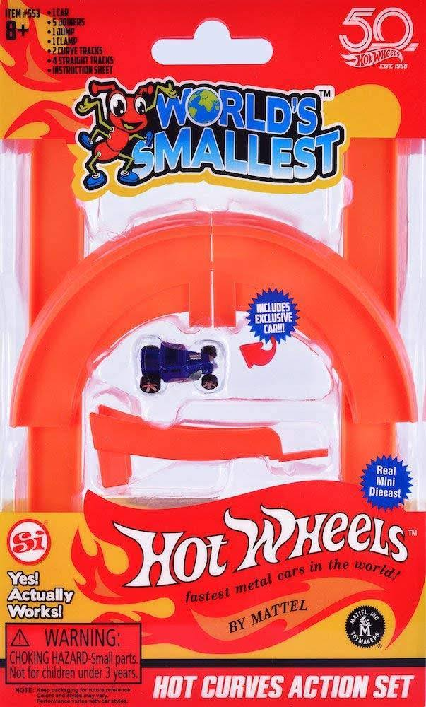 World's Smallest Hot Wheels Curve & Jump Set