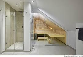 ein perfektes ensemble die sauna im badezimmer saunazeit