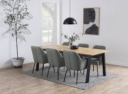 brips esstisch eiche furniert braun tisch küchentisch esszimmertisch esszimmer