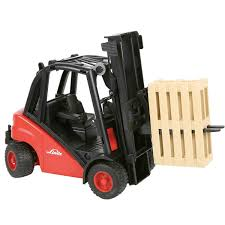 100 Bruder Trucks Linde Forklift With Pallet Magic Beans