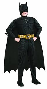 Long Halloween Batman Suit by Amazon Com Batman Dark Knight Rises Child U0027s Deluxe Muscle Chest