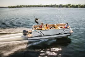 Pontoon Boat Sinks Nj by Larson Escape 25 Ttt Boating World