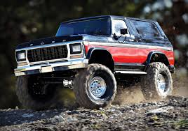 Traxxas TRX4 Ford Bronco Red (Traxxas 82046-4-RED | TRA82046-4-RED ... 1969 Ford Bronco Half Cab Jared Letos Daily Driver Is A With Flames On It Spied 2019 Ranger And 20 Mule Questions Do You Still Check Trans Fluid With Truck In Year Make Model 196677 Hemmings 1966 Service Pickup T48 Anaheim 2016 Indy U101 Truck Gallery Us Mags 1978 Xlt Custom History Of The Bronco 1985 164 Scale Custom Lifted Ford
