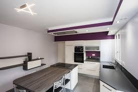 hotte de plafond novy aménagement de cuisines sur mesure nos réalisations evm création