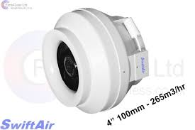 Duct Free Bathroom Fan Uk by 4