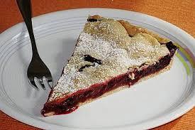 amerikanischer blueberry pie