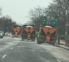 100 Trucks In Snow PoPville Salt Out In Full Force In Preparation For Coming