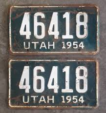 PAIR Of 1954 Utah TRUCK License Plates | The H.A.M.B. License Plate Oklahoma Zz Is A Showboat Of Sleeper 10 Second Ontario Quarterly Truck And Bus Plates Part M Flickr Mapa Plate License Plates The Portly Chronicles More Auto Blonde 2x Car Truck Dark Blue Frames Number A Rustic Christmas Tablescape Celebrate Decorate Do I Need Commercial Encharter Insurance Deck 1966 Texas Farm Brandywine General Store 1961 Virginia Lpr For Access Control