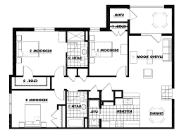 Fifth Wheel Bunkhouse Floor Plans by Th Wheel Bunkhouse Floor Plans Images Also Two Bedroom Rv
