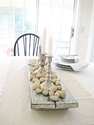 Image Gallery Of Pleasant Rustic Dining Room Table Centerpieces 6 Happy Fall Pumpkin Pear Farmhouse
