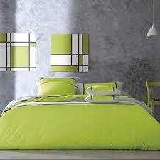 chambre grise et verte chambre gris et vert amusant chambre vert et gris idées décoration