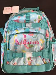 Pottery Barn Kids Mackenzie Aqua Mermaid Large Backpack | EBay Pottery Barn Kids Pink Geo Bpack Mercari Buy Sell Things Mackenzie Navy Multicolor Heart Bpack Lia Back To School Checklist The Sunny Side Up Blog Bpacks Barn Kids Rolling Aqua Unicorn Nwt Large Navy Happy Horses Marvel Blue Clothing Shoes Accsories Accs Find Dino Ebay New Firetruck