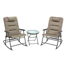 Slingback Patio Chairs That Rock by Patio Furniture Academy Sports Outdoors