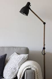 Regolit Floor Lamp Hack by 25 Ikea Lighting Hacks