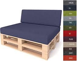 pillows24 palettenkissen 2 teiliges set palettenauflage polster für europaletten hochwertige palettenpolster palettensofa indoor outdoor