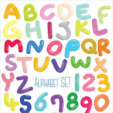 Printable Bubble Letter Alphabet