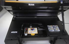 Kodak ESP 5250 Under The Ho There Are Only Two Ink Cartridges