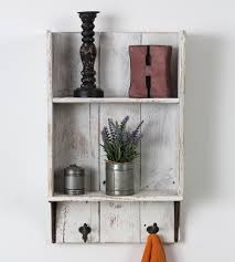 Reclaimed Wood Bathroom Shelf
