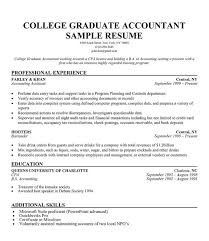 Resume For Recent College Graduate Template Grad 10 Sample Format