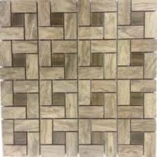 Menards Beveled Subway Tile by Shower Floor Accent Ragno Norwood Ceramic Pinwheel Mosaic Floor