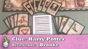 Board Game Review Clue Harry Potter Edition