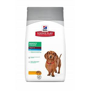 Hill's Science Plan Perfect Weight Adult Mini Dry Dog Food - 2kg