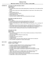 English Teacher Resume Samples | Velvet Jobs - Resume For English ... 24 Breathtaking High School Teacher Resume Esl Sample Awesome Tutor Rponsibilities Esl Writing Guide Resumevikingcom Ammcobus Resume Objective For English Teacher English Example Shows The Educators Ability To Beautiful Language Arts Examples By Real People Example Child Care Samples Velvet Jobs Template Cv Free Templates New Teaching Position Cover Letter By Billupsforcongress For Fresh Graduate In