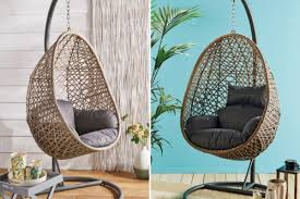 Aldi's 'stunning' Hanging Egg Chair Is Receiving Hundreds Of ... Whats It Worth Baby Carriage A Common Colctible But Castle Island Swivel Lounge Chair Ashley Fniture Homestore Big Game Dark Grey Moustache Design Adult Sirio Wicker Set Of 4 Barstools Vintage English Orkney Islands Childs Scotland Circa 1920 Sommerford Ding Room Wickerrattan Outdoor Patio Rocking Chairs Bhgcom Tessa Midcentury Franco Albini Style Rattan Cheap Black Find Check Out Sales Savings For
