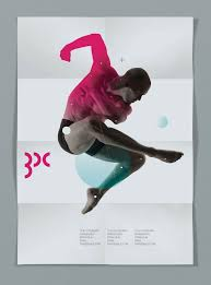 A Beautiful And Minimalist Dance Poster From Designspiration