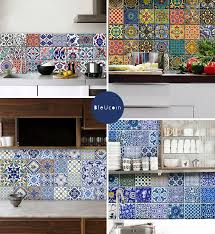 temporary tile cover up bleucoin tile decals door sixteen