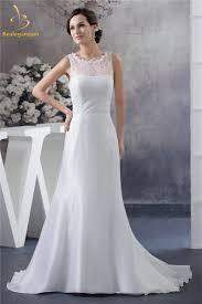 online get cheap chiffon beach wedding dress aliexpress com