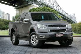 2013 Holden Colorado, Grey Manual 98,250km, QLD