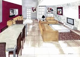 Fauteuil Relaxation Avec Etude Pour Decorateur D Interieur Etude Et Ralisation Dun Projet Damnagement Intrieur Par Un Destiné à