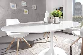 casa padrino moderner yacht design esstisch weiß hochglanz