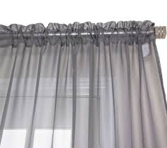 White Sheer Voile Curtains by Sheer Voile Curtains