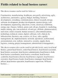 Hostess Resume Example Restaurant Job Description
