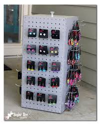 Heres How To Make Your Own Jewelry Spinning Display Pegboard Case