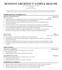 Architecture Resume Sample Examples Inspirational Business Architect Example Free Software Template Cv Templ Creative