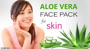 15 DIY to Get Glowing Skin with Aloe Vera Aloe Vera face pack for