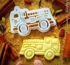 100 Monster Truck Cookie Cutter Fire House S