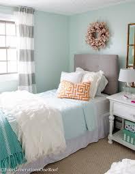 Teenage Girls Bedroom Decorating Ideas Prepossessing Girl Aqua Teen Room Colors