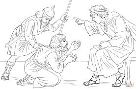 Click The Unforgiving Servant Parable Coloring Pages